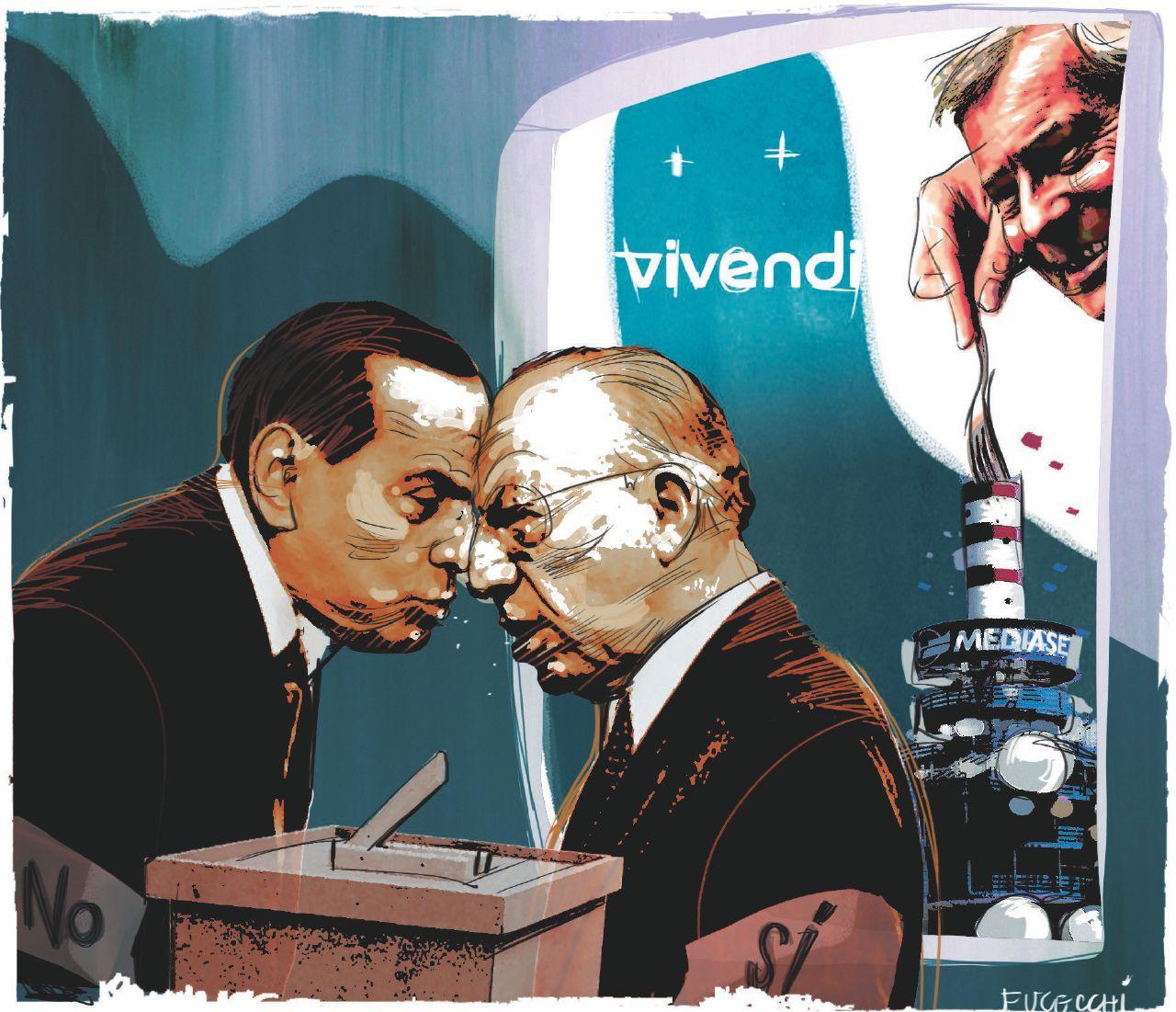 Mediaset, c'è la scalata straniera  e la  politica stavolta è impotente