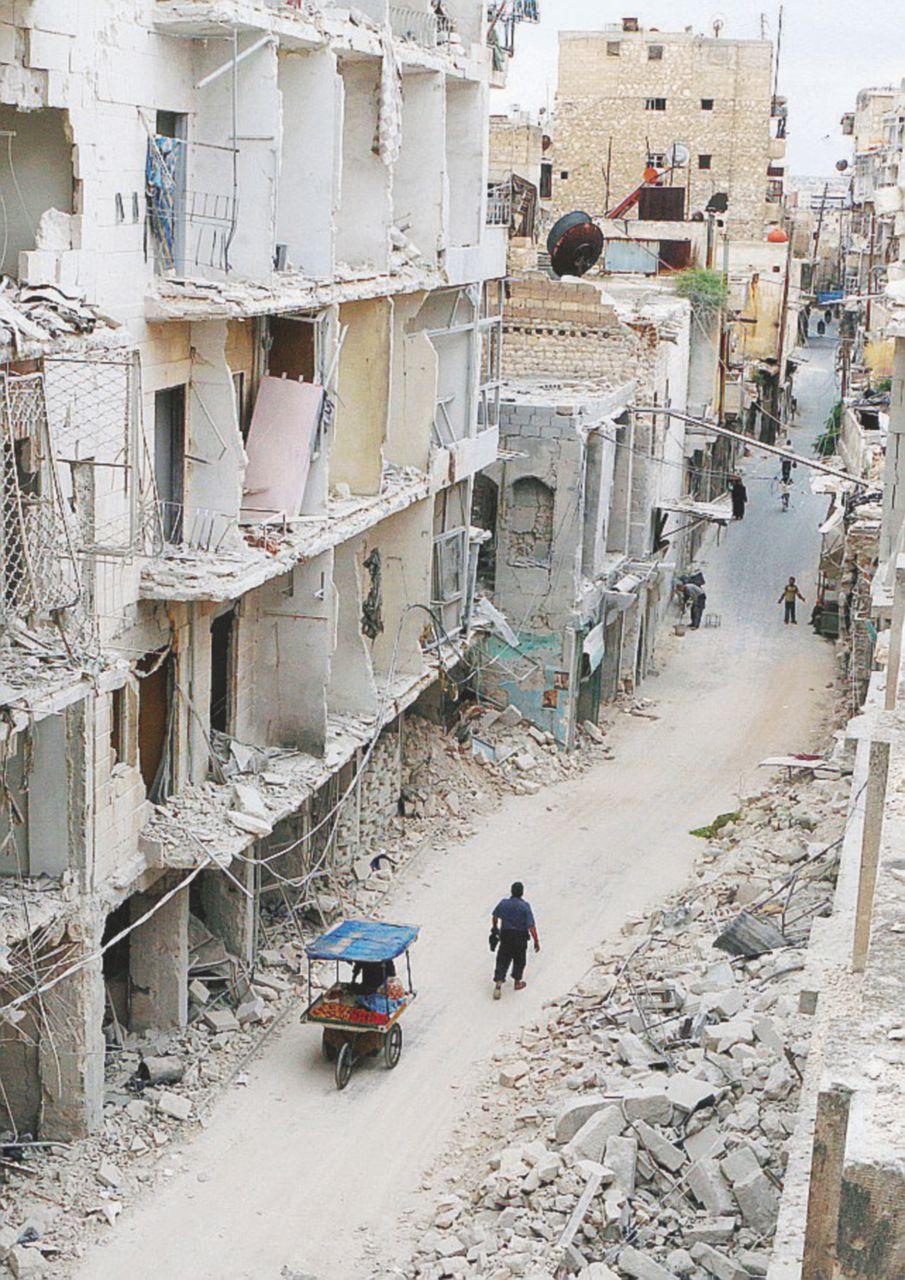 Tregua fra bombe e scudi umani