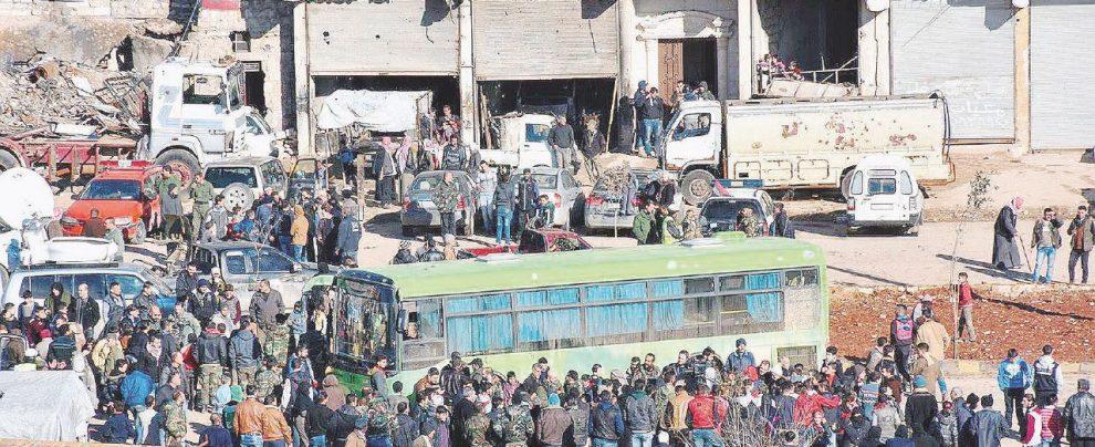 Assad canta vittoria tra morti ed evacuazioni