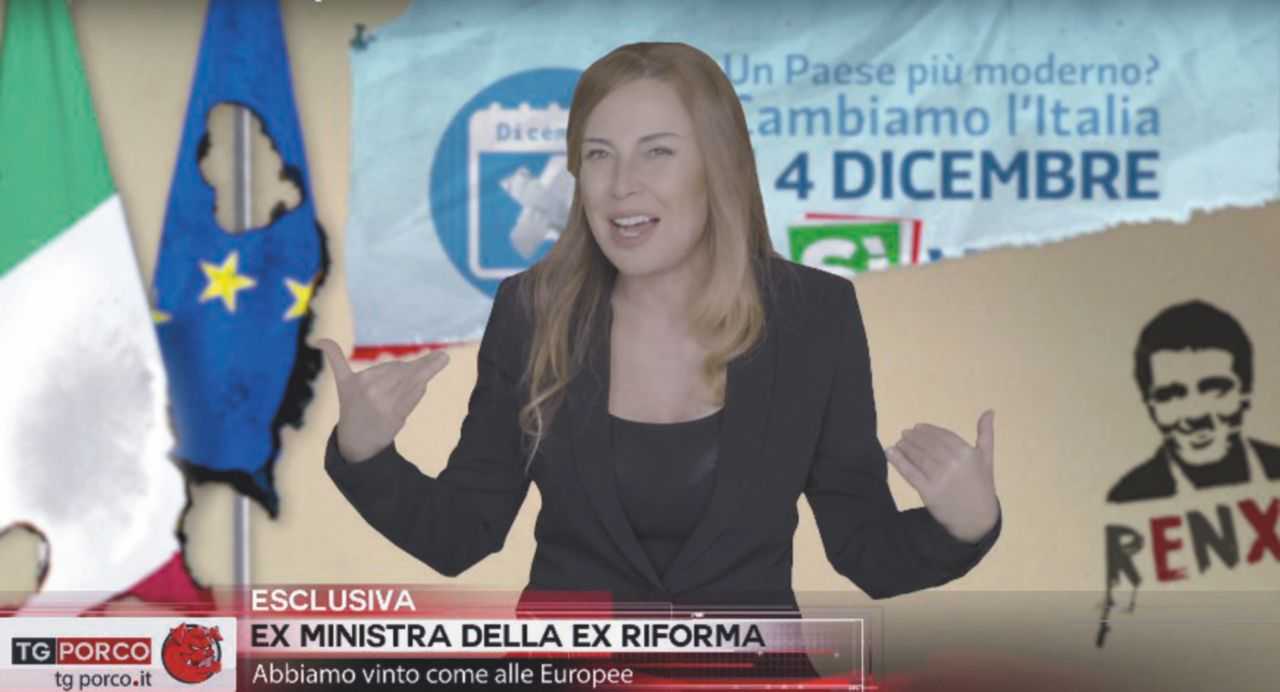 """Guzzanti contro Piazzapulita: """"La7 cancella il mio Tg Porco"""""""