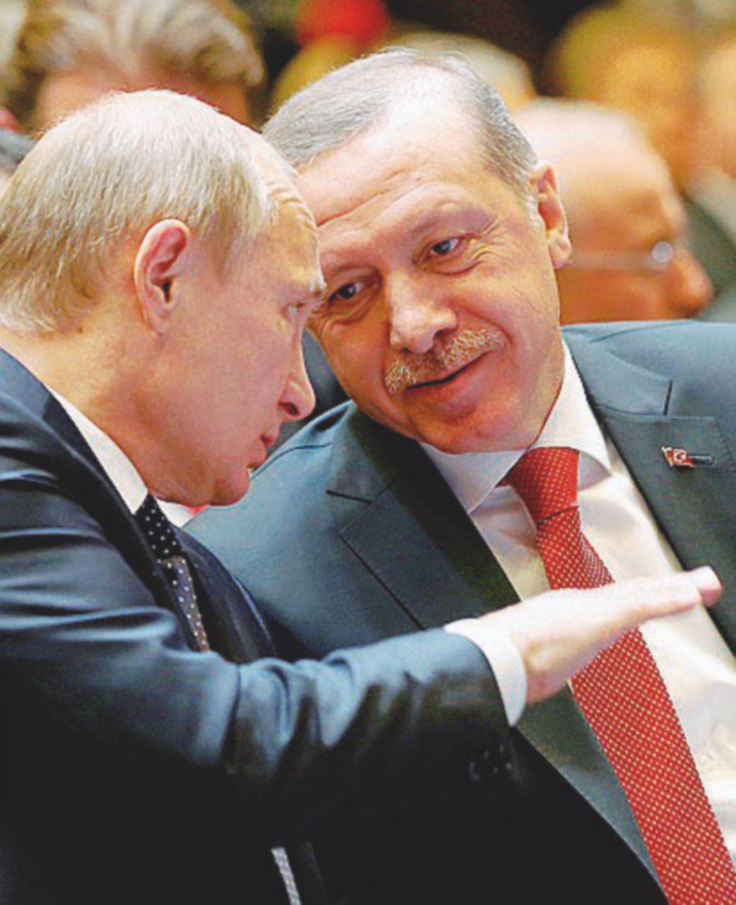 Messaggio di piombo a Putin e Erdogan