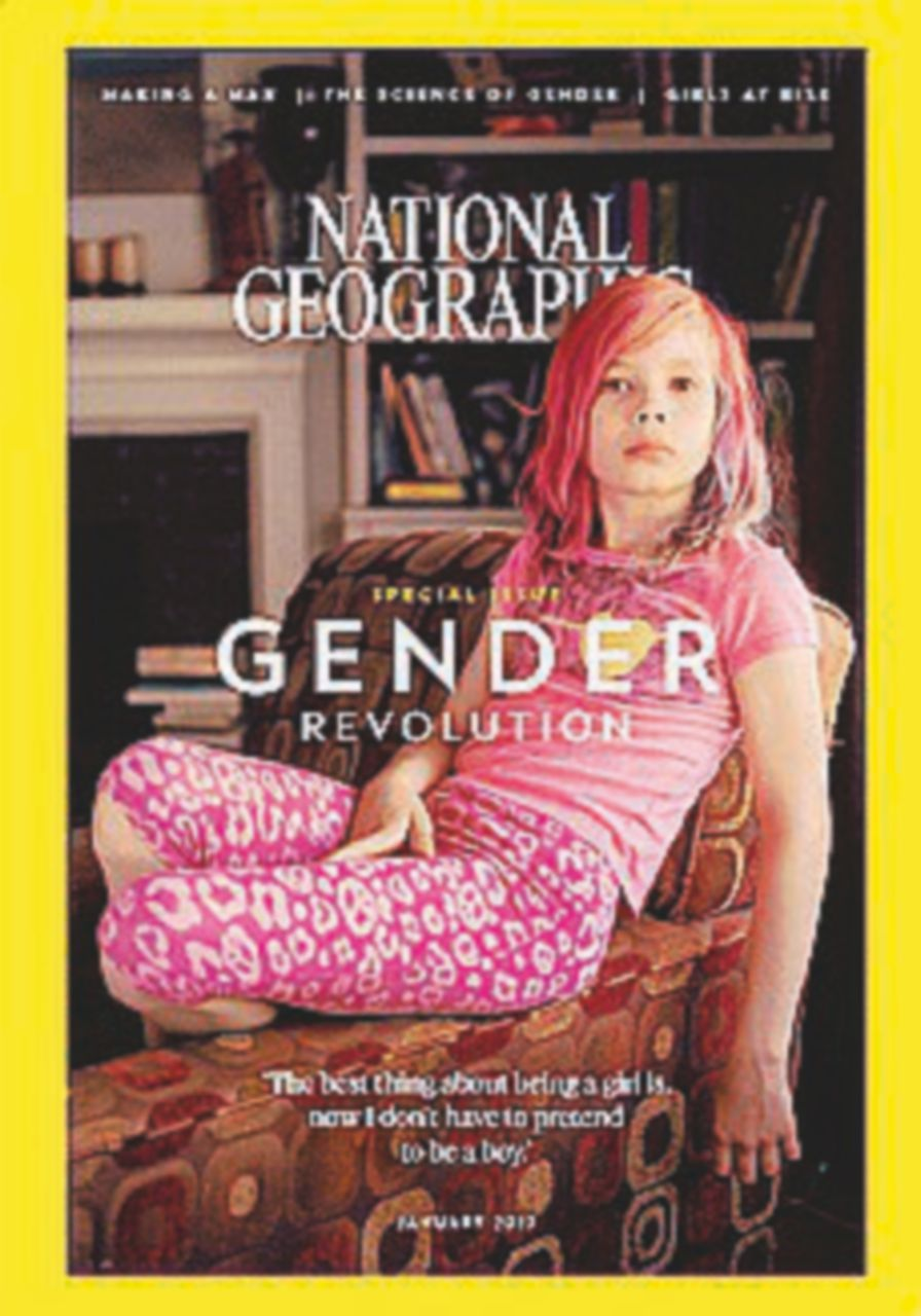 Avvenire contro il National Geographic sulla copertina gender