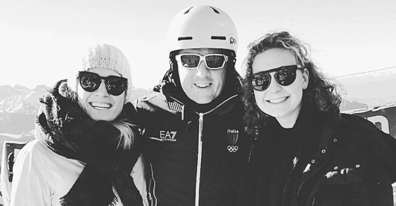 E Renzi va a sciare in Val Gardena: per lui fotografia con le due ereditiere