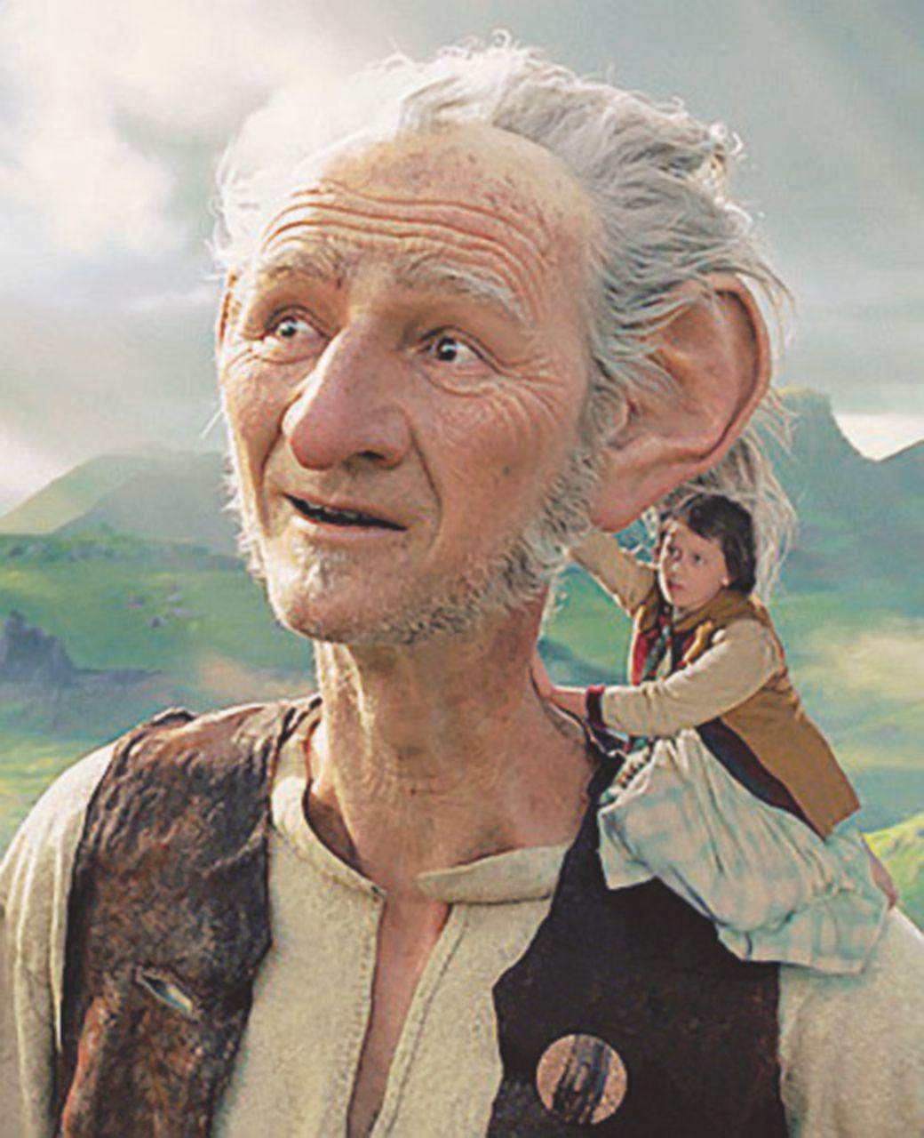 Il Gigante cattura-sogni: la strana coppia Roald Dahl-Steven Spielberg