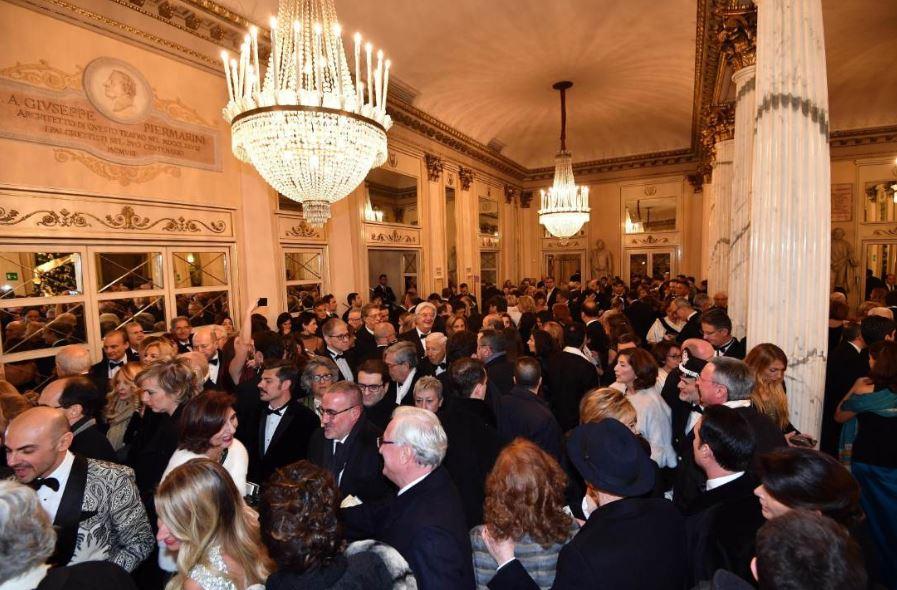 Il foyer della Scala