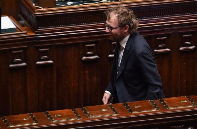 Il ministro dello Sport Luca Lotti