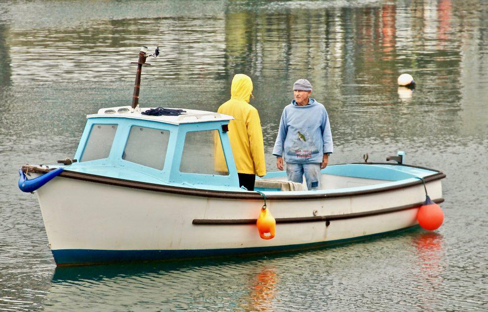 Pescatori a Mevagissey