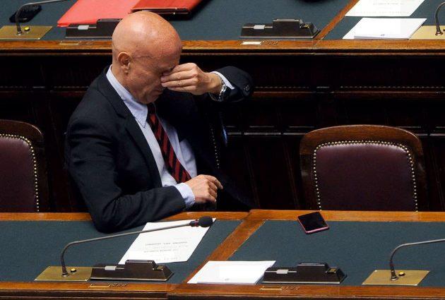 Il nuovo ministro dell'Interno Marco Minniti