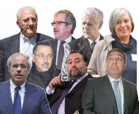 Sul Fatto del 4 dicembre: nei Consigli regionali, che nominerebbero i senatori, siedono 109 inquisiti, imputati o condannati