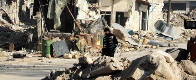 Per Aleppo non ci sarà memoria