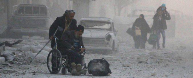 Guerra in Siria, sotto la neve di Aleppo camminano i futuri jihadisti