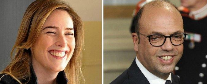 """Governo Gentiloni, boom di tweet contro Alfano e Boschi. """"Bocciata. Abbia un po' di dignità: sparisca"""""""