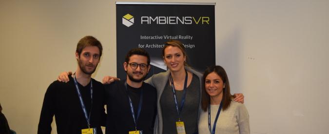 """AmbiensVR, Realtà Virtuale al servizio di architettura e arredamento. Ennio Pirolo, ceo della startup: """"È stata una scintilla"""""""