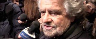 """Muraro, Grillo: """"Non ho chiesto dimissioni, problema va risolto in Comune"""". Ai giornalisti: """"Voglio parlare coi vostri genitori"""""""