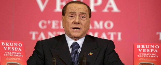 """Berlusconi: """"Siamo per il reddito di cittadinanza come il M5s: cittadini poveri sopravvivono solo con la carità"""""""