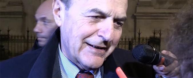 """Pd, dopo D'Alema anche Bersani evoca la scissione: """"Parlerò con Renzi ma non minaccio e non garantisco nulla"""""""