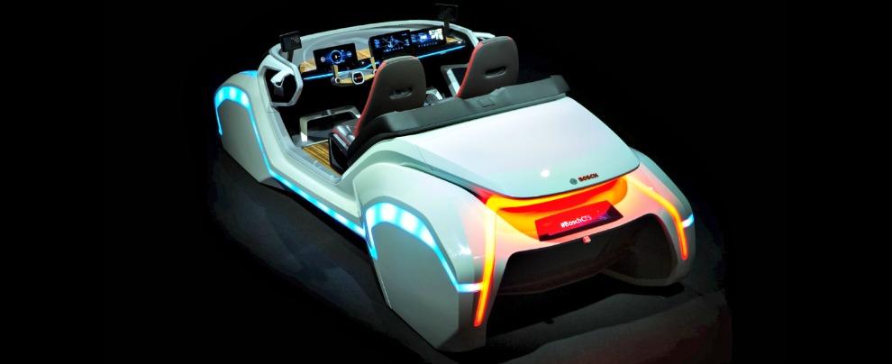 Ces 2017, ecco l'auto di domani secondo i tedeschi di Bosch