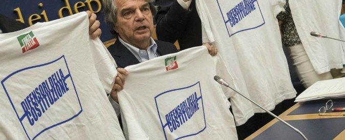 Referendum costituzionale, il 'Grazie a tutti' di Brunetta&Co? Anche NO