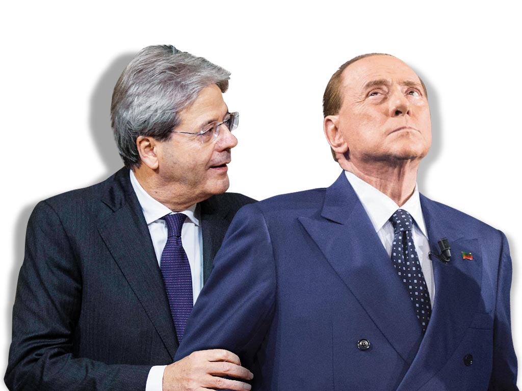 In Edicola sul Fatto Quotidiano del 15 dicembre: Gentiloni atto primo: salvare Mediaset. Le banche si vedrà
