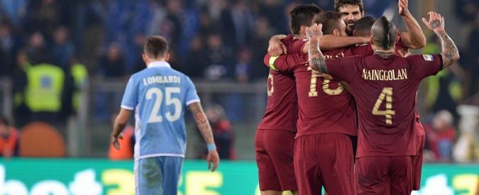 Derby Lazio-Roma, punito il vigile in servizio allo stadio che ha esultato dopo il gol dei giallorossi