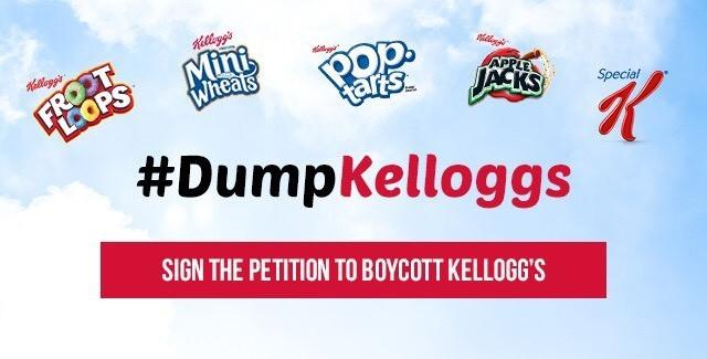 Boicottaggi, Kellogg's non compra pubblicità su sito pro-Trump. La risposta? Una campagna contro i cereali