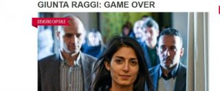 """Arresto Marra, Famiglia Cristiana: """"Giunta Raggi game over, fino a quando abuserà della pazienza dei romani?"""""""