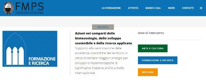 Fondazione Monte dei Paschi, indagati per bancarotta fraudolenta gli ex vertici della società strumentale Siena Biotech