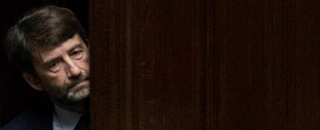 Foto Roberto Monaldo / LaPresse 09-11-2016 Auschwitz (Polonia) Politica Camera dei Deputati - Informativa del Presidente del Consiglio Matteo Renzi sul sisma in centro Italia Nella foto Dario Franceschini Photo Roberto Monaldo / LaPresse 09-11-2016 Rome (Italy) Chamber of Deputies - Informative of the Prime Minister Matteo Renzi on hearthquake In the photo Dario Franceschini