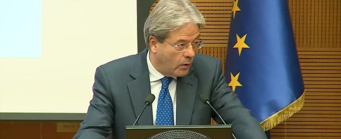 """Mps, la replica di Gentiloni alle istanze tedesche: """"A Bruxelles terremo il nostro punto"""""""