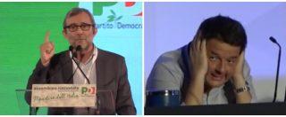 """Assemblea Pd, Giachetti vs Speranza: """"Ora sei per il Mattarellum? Hai la faccia come il culo"""""""