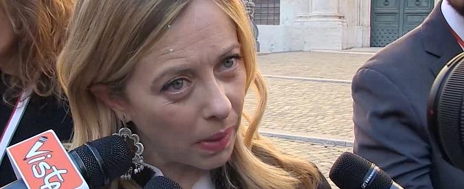 """Giorgia Meloni chiede """"l'affondamento della Sea Watch"""". Filippo Rossi: """"Vergogna, sei una leaderina estremista"""""""