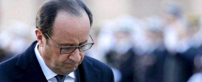 """Hollande: sexgate, attentati jihadisti e crollo dei consensi in Francia. Il declino del """"presidente normale"""""""