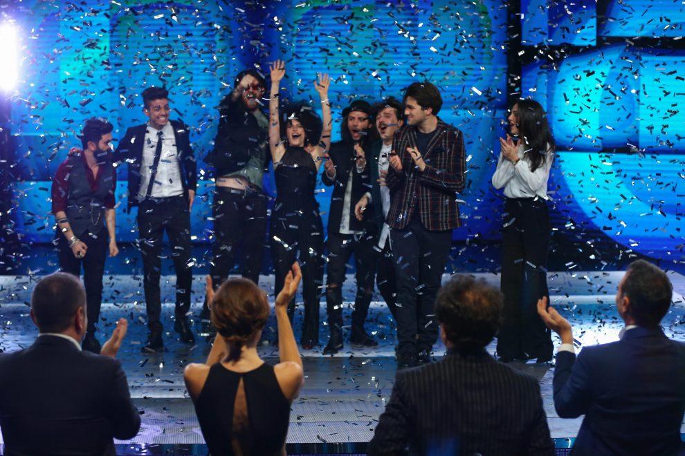 I partecipanti a Sanremo Giovani