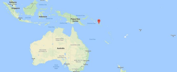 Terremoto di magnitudo 7.8 alle Isole Salomone: rientra allerta tsunami per le isole Hawaii