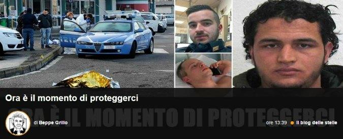 """Killer di Berlino ucciso a Milano, Grillo: """"Migranti irregolari rimpatriati da oggi"""". Gentiloni: """"Faremo del nostro meglio per garantire sicurezza"""""""