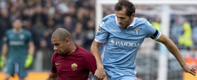 """Derby Lazio – Roma, offesa razzista di Lulic: """"Rudiger? Due anni fa vendeva calzini e cinture"""". Rissa in campo"""