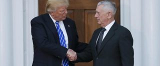 Usa, Trump nomina capo del Pentagono 'Mad Dog' Mattis. Scelto per rassicurare gli ambienti militari e l'establishment