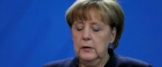 """Attentato Berlino, Merkel: """"E' un giorno duro. Ma continueremo a sostenere chi chiede di integrarsi nel nostro Paese"""""""