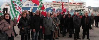 """Messina, sit in dopo la morte dei lavoratori. Sindacati: """"Governo faccia norme stringenti o le sue sono parole al vento"""""""