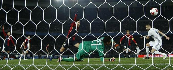 Real Madrid vince Mondiale per Club battendo il Kashima Antlers 4 a 2. Ma i giapponesi sfiorano l'impresa