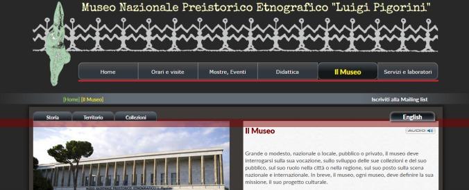 Roma, il passaggio da Eur a Inail non basta: il museo etnografico Pigorini resta al buio e senza sorveglianza