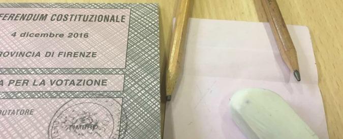 """Referendum costituzionale, """"matita usata per votare era cancellabile"""": segnalazioni da tutta Italia. Viminale: """"Sono indelebili"""""""