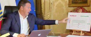 """Referendum, Grillo: """"Denunceremo Renzi per falsa scheda Senato"""". Lui: """"Prego, sanno qual è strada per tribunale"""""""