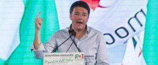 Renzi: 'Straperso al Sud e tra i giovani. Legge elettorale? Propongo Mattarellum'. E Giachetti insulta Speranza