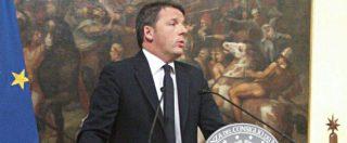 """Referendum, Renzi annuncia le dimissioni: """"Ho perso io, l'esperienza del mio governo finisce qui"""""""