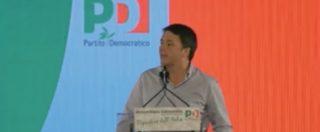 """Assemblea Pd, Renzi e il patto con M5s: """"Voi smettete con le bufale, noi con la verità su di voi"""""""