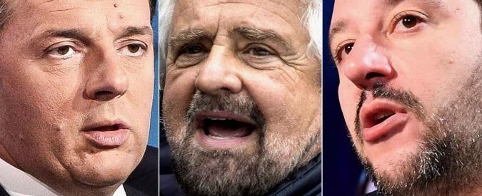 """Referendum, Renzi: """"Possiamo vincere"""". Delrio: """"Col no salirà al Colle"""". Grillo: """"Noi forti anche se perdiamo"""""""