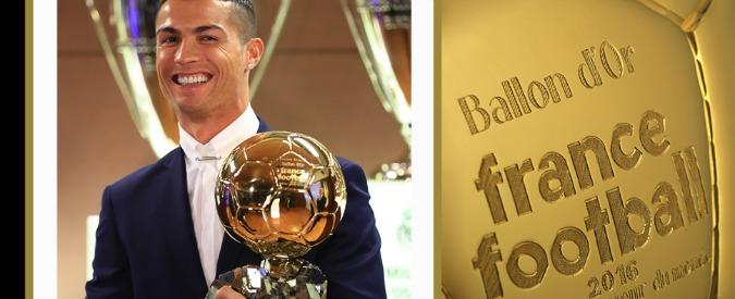 Pallone d'Oro 2016, Cristiano Ronaldo vince per la quarta volta. Ora Messi è più vicino