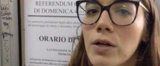 """Referendum, nel seggio della """"matita cancellabile"""". Il vigile: """"Cancellare? Difficile, ma se il tratto è leggero…"""""""