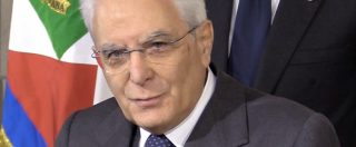 """Mattarella: """"Presto governo con piene funzioni. Prima di votare serve nuova legge elettorale"""""""